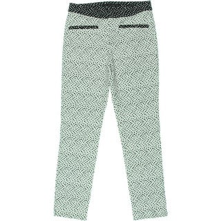 Zara Basic Womens Pattern Flat Front Dress Pants - S