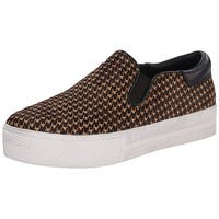 Ash Womens Jam Leather Low Top Slip On Fashion Sneakers - 9