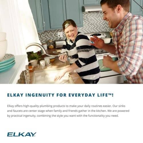 Elkay Ectru30179rdbg 31 1 2 Undermount Single Basin 18 Gauge Stainless Steel Kitchen Sink Includes Drain And Bottom Grid Overstock 16296397