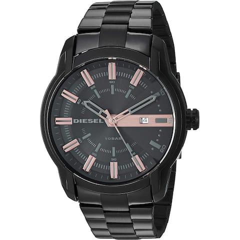 Diesel Men's DZ1767 Armbar Black Stainless-Steel Watch - 1 Size