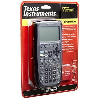 Texas Instruments TI-89 Titanium Programmable Graphing Calculator TI-89 Titanium Programmable Graphing Calculator