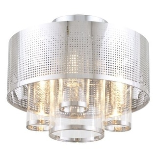 DVI Lighting DVP10411 Dakar 3 Light Semi Flush Ceiling Fixture