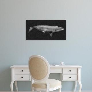 Easy Art Prints Grace Popp's 'Inverted Whale II' Premium Canvas Art