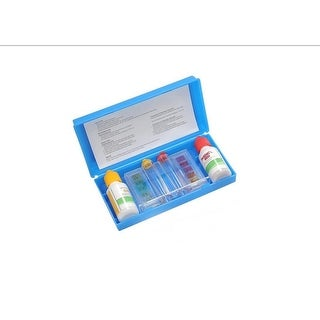3-Way Swimming Pool Test Kit with Case - Tests pH, Chlorine and Bromine Levels