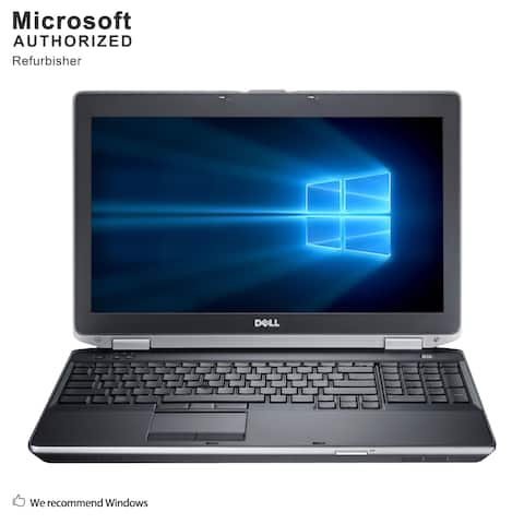 "Dell Latitude E6530 15.6"" Laptop Intel Core I7-3720QM 2.6G 8G RAM 480G SSD DVDRW WIFI Windows 10 Home (Refurbished A Grade)"