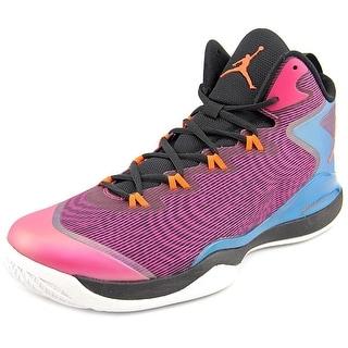 Jordan Super Fly 3 Men Round Toe Synthetic Pink Basketball Shoe