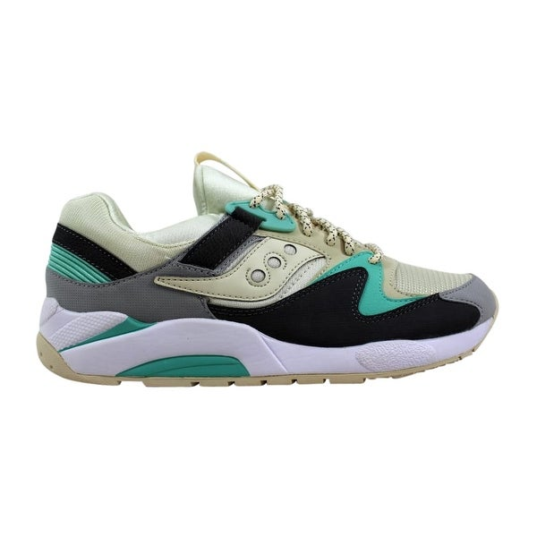 e948f40b Shop Saucony Grid 9000 Light Tan/Charcoal-Mint S70077-53 Men's ...