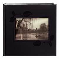 Pioneer Photo Albums DA-200EIBK Black Embossed Photo Album