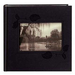 Pioneer Photo Albums DA-200EIBK Black Embossed Photo Album