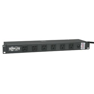 Tripp Lite Rackmount Network-Grade PDU Power Strip, 12 Right Angle Outlets Wide-Spaced, 15A, 15ft Cord w/ 5-15P Plug (RS