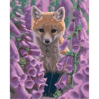 "Paint By Number Kit 16""X20""-Foxgloves"