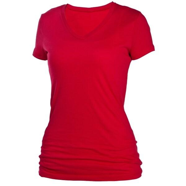 Boxercraft Women's Perfect Fit Cotton V-Neck T-Shirt