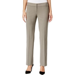 Nine West Womens Dress Pants Professional Faux Pocket