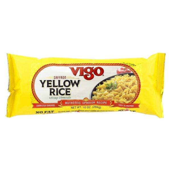 Vigo Yellow Rice - Case of 12 - 10 oz.