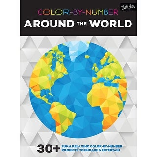 Walter Foster Creative Books-Color By Number - Around The World