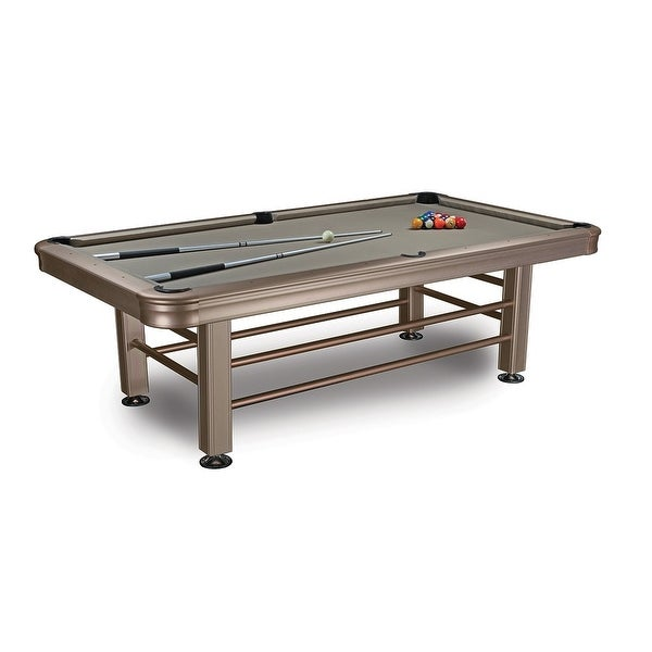 Fine Imperial 8 Outdoor Pool Table With Accessories 29 830 Silver Interior Design Ideas Gentotryabchikinfo