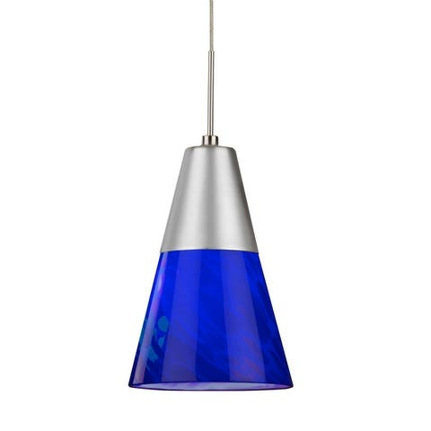 Laveer 1-light Satin Nickel 3000K LED Pendant