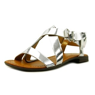 Report Groban Open-Toe Synthetic Slingback Sandal
