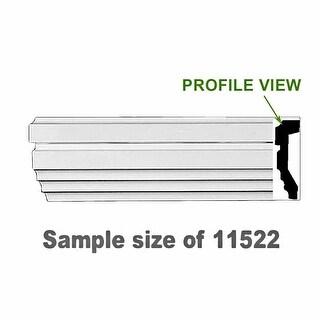 Renovator's Supply Cornice White Urethane Sample of 11175 23.5 Long