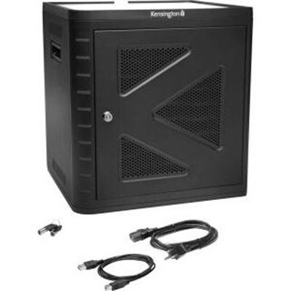 Kensington Charge And Sync Cabinet For 7-Inch To 10-Inch Tablets, Ipad Air, Ipad 4/3/2 And Galaxy Tab 3 (K67862am)