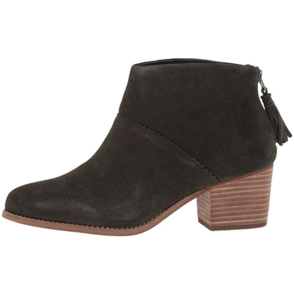 TOMS Womens LEILA Almond Toe Ankle Fashion Boots - 7.5