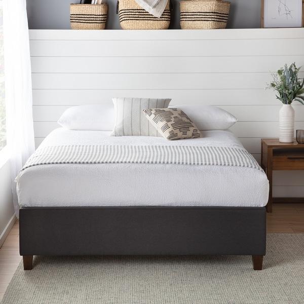 Brookside Ava Upholstered Platform Bed with Slats. Opens flyout.