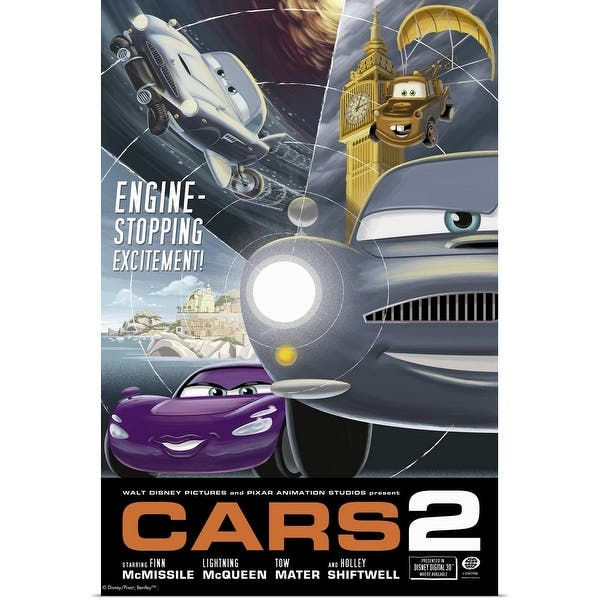 Shop Cars 2 Movie Poster Poster Print Overstock 24129316