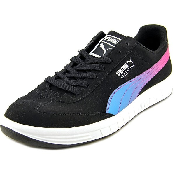 Puma Argentina Nbk Round Toe Leather Sneakers