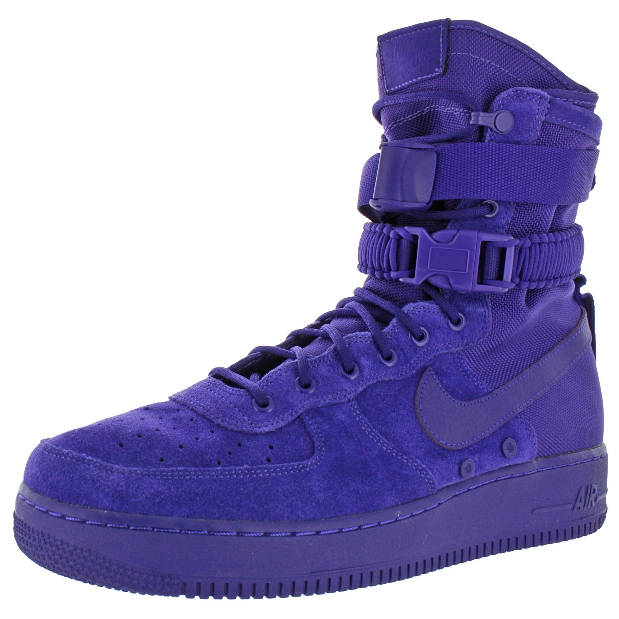 Nike Mens Air Force 1 Fashion Sneakers High Top Perforated