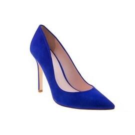Eleanor Anukam Quintessential Blue Stiletto Pumps