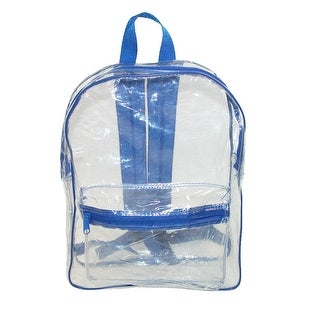 Liberty Bags Clear Backpack with Adjustable Straps (2 options available)