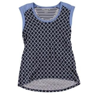 Nautica Womens Pajama Top Printed Sleeveless