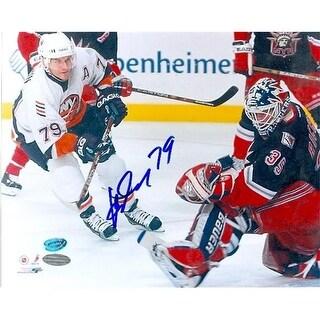 Alexei Yashin Autographed 8 x 10 Photo New York Islanders Image No