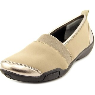 Ros Hommerson Carol N/S Round Toe Canvas Loafer