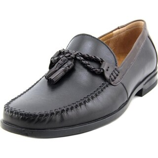 Nunn Bush Newbury Men  Round Toe Leather Black Loafer
