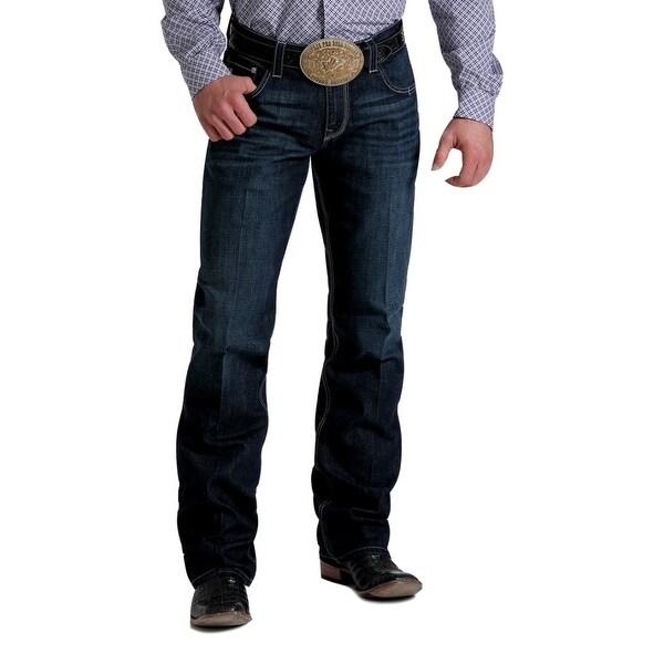 Cinch Western Denim Jeans Mens Carter 2.4 Relaxed Dk