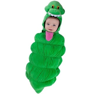 Princess Paradise Ghostbusters Slimer Swaddle Infant Costume - Green - 0-3 months
