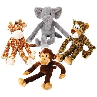 "Multipet 22376 Swingin' Safari Dog Toys, 22"", Assorted Color"