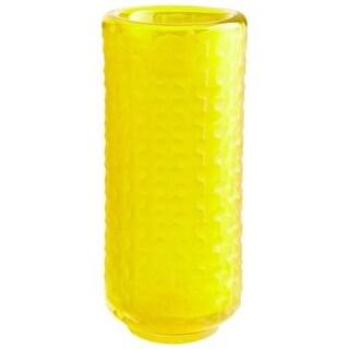 Cyan Design Small Lemon Drop Vase Lemon Drop 11.75 Inch Tall Glass Vase