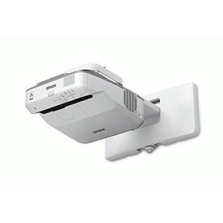 Epson V11h746520 Powerlite 680 3500-Lumen Xga Ultra-Short Throw 3Lcd Projector