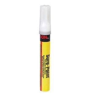 """C.H. Hanson 10298 Sure Point Permanent Paint Marker, White, 1/2"""" x 6"""""""