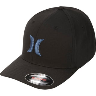 Hurley Mens One And Only Ball Cap Embroidered Fitted