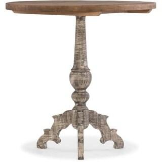 Hooker Furniture 5580-50001-MULTI 26 Inch Diameter Rubberwood Pedestal Table