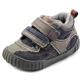 Stride Rite SRT Warren Round Toe Leather Sneakers