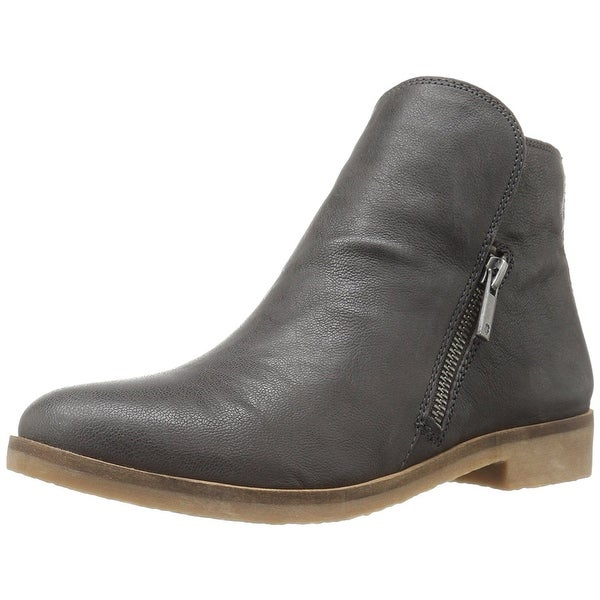Lucky Brand Womens Gulvan Leather Closed Toe Ankle Fashion Boots