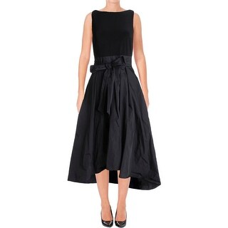 Ralph Lauren Womens Zane Formal Dress Hi-Low Sleeveless