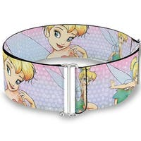 Tinker Bell Poses Purple Pink Fade Cinch Waist Belt   ONE SIZE