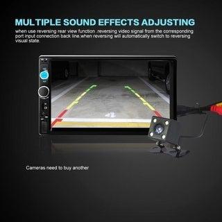 7'' HD Bluetooth Touch Screen Car Stereo Radio 2 DIN FM/MP5/MP3/USB/AUX