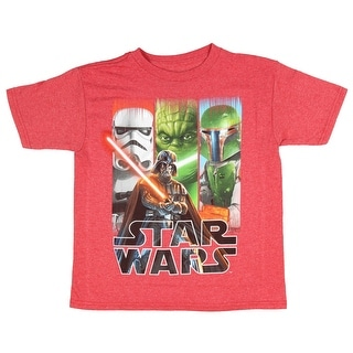 220fa0dc1 Shop Lego Star Wars Boys' It Wasn't Me Vader Stormtrooper Lineup T-Shirt -  Free Shipping On Orders Over $45 - Overstock - 19508398