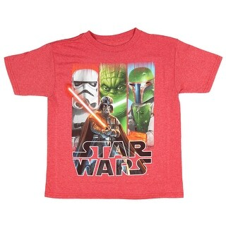 Lego Star Wars Boys' It Wasn't Me Vader Stormtrooper Lineup T-Shirt